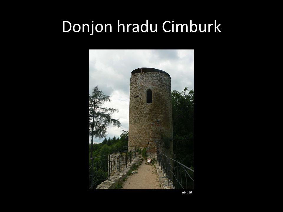 Donjon hradu Cimburk obr. 16