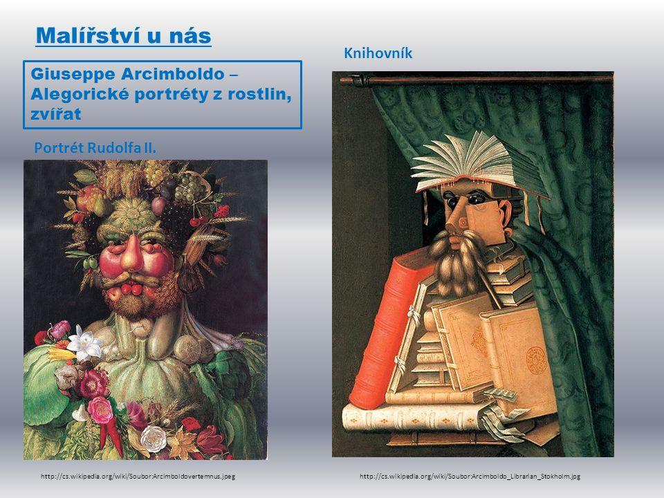Malířství u nás Knihovník Giuseppe Arcimboldo –
