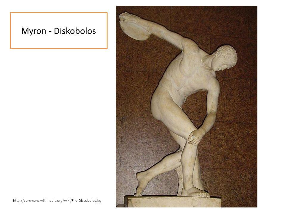 Myron - Diskobolos http://commons.wikimedia.org/wiki/File:Discobulus.jpg