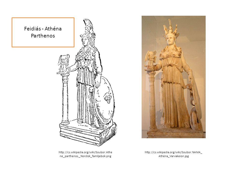 Feidiás - Athéna Parthenos