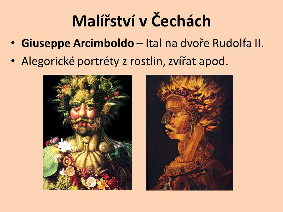 Malířství v Čechách Giuseppe Arcimboldo – Ital na dvoře Rudolfa II.