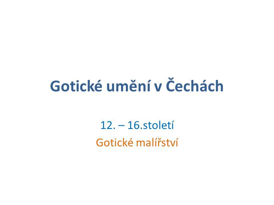 Gotické umění v Čechách