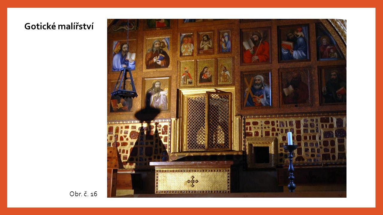 Gotické malířství Obr. č. 16
