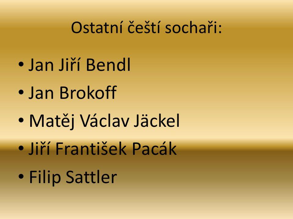 Ostatní čeští sochaři: