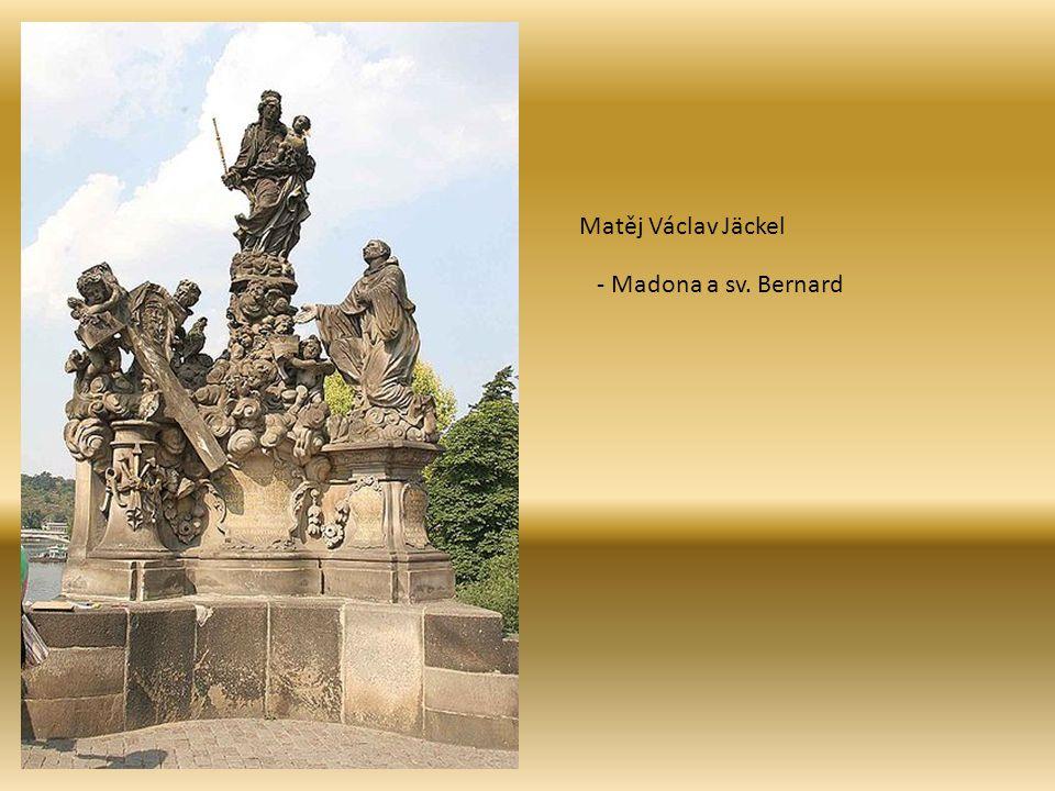 Matěj Václav Jäckel - Madona a sv. Bernard