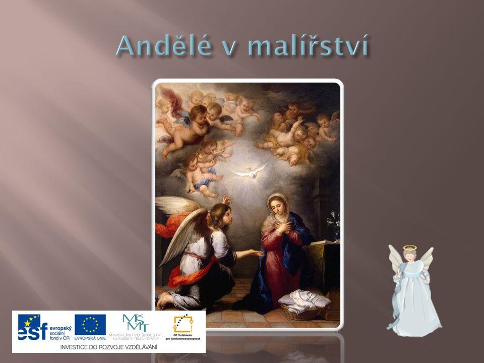 Andělé v malířství