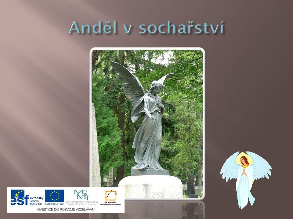 Anděl v sochařství