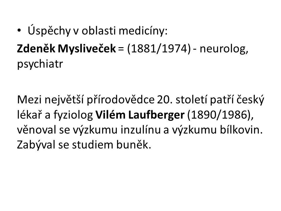 Úspěchy v oblasti medicíny: