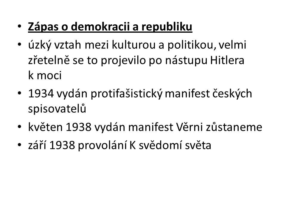 Zápas o demokracii a republiku
