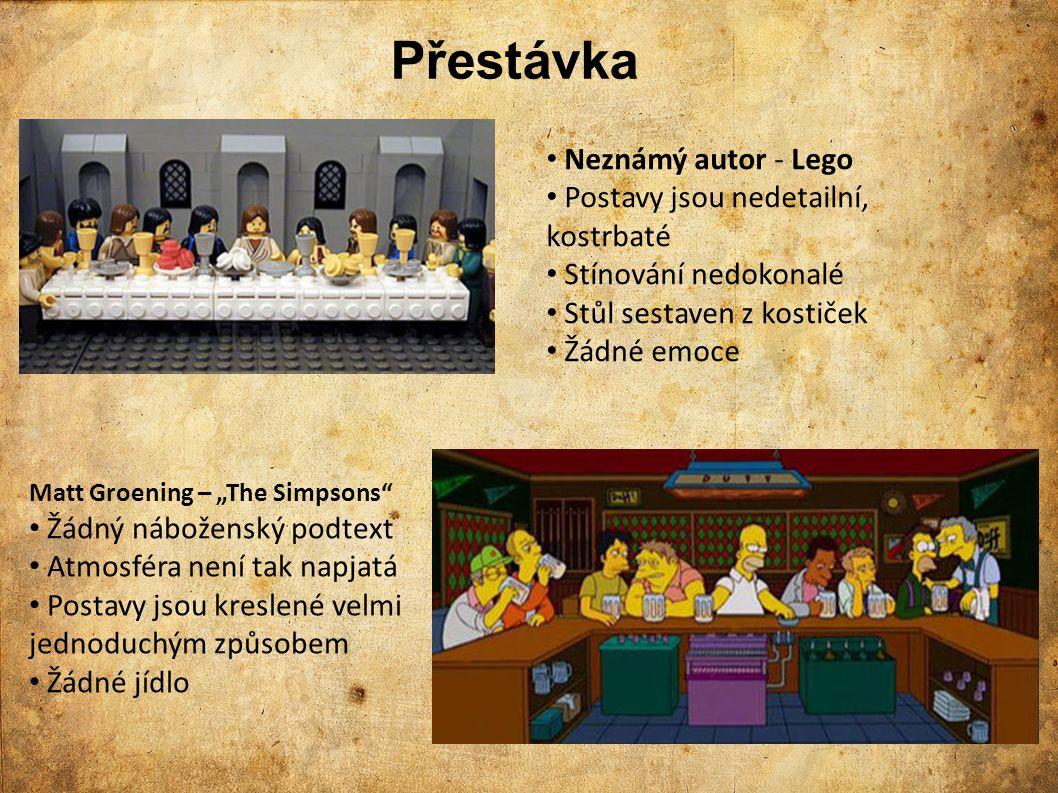 Přestávka Neznámý autor - Lego Postavy jsou nedetailní, kostrbaté