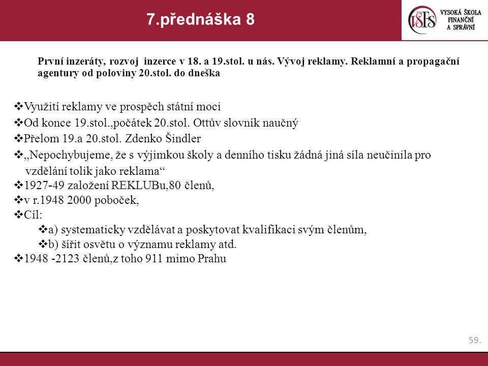7.přednáška 8 Využití reklamy ve prospěch státní moci
