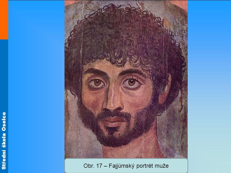 Obr. 17 – Fajjúmský portrét muže