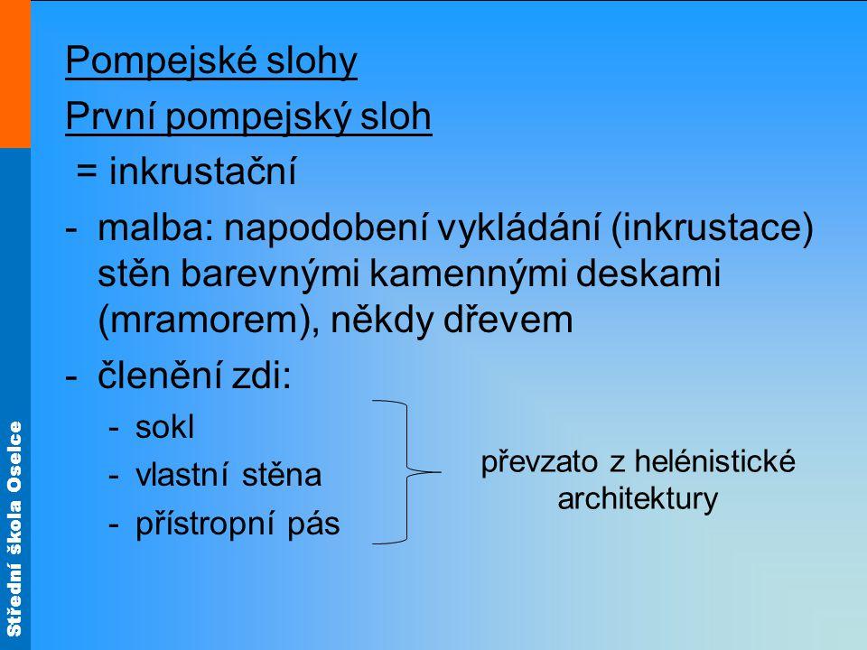 převzato z helénistické architektury