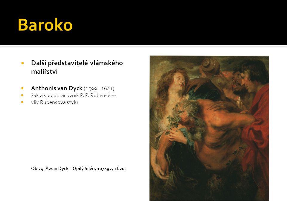 Baroko Další představitelé vlámského malířství