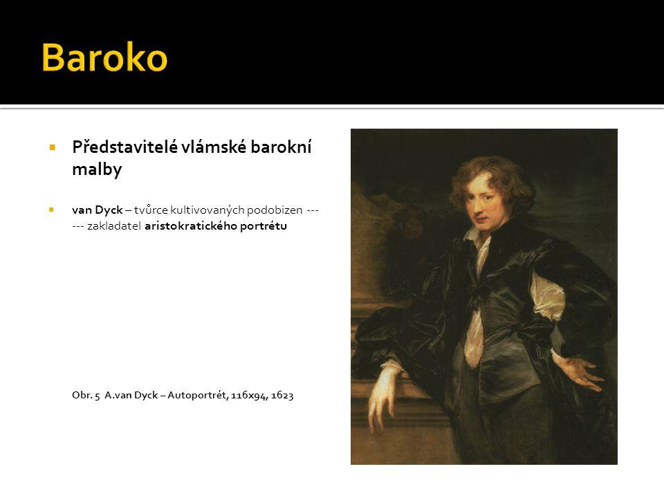 Baroko Představitelé vlámské barokní malby