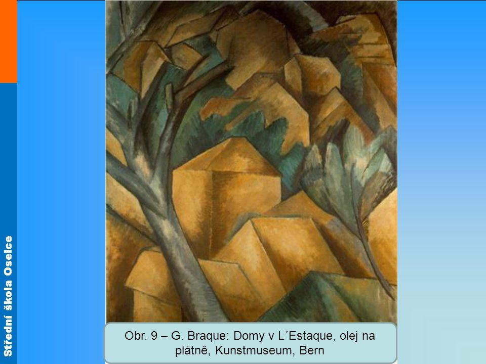 Obr. 9 – G. Braque: Domy v L´Estaque, olej na plátně, Kunstmuseum, Bern