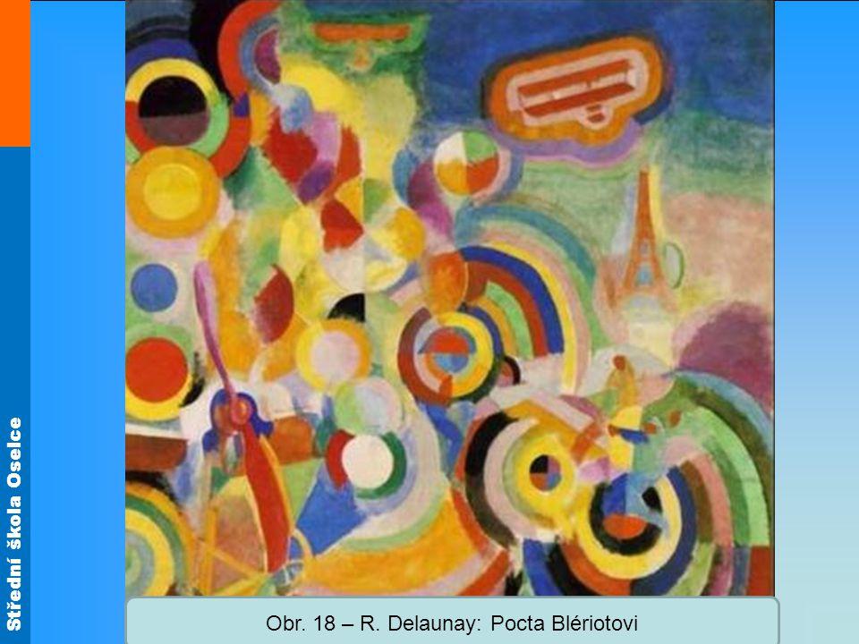 Obr. 18 – R. Delaunay: Pocta Blériotovi