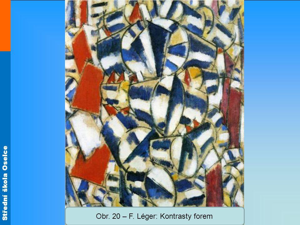 Obr. 20 – F. Léger: Kontrasty forem
