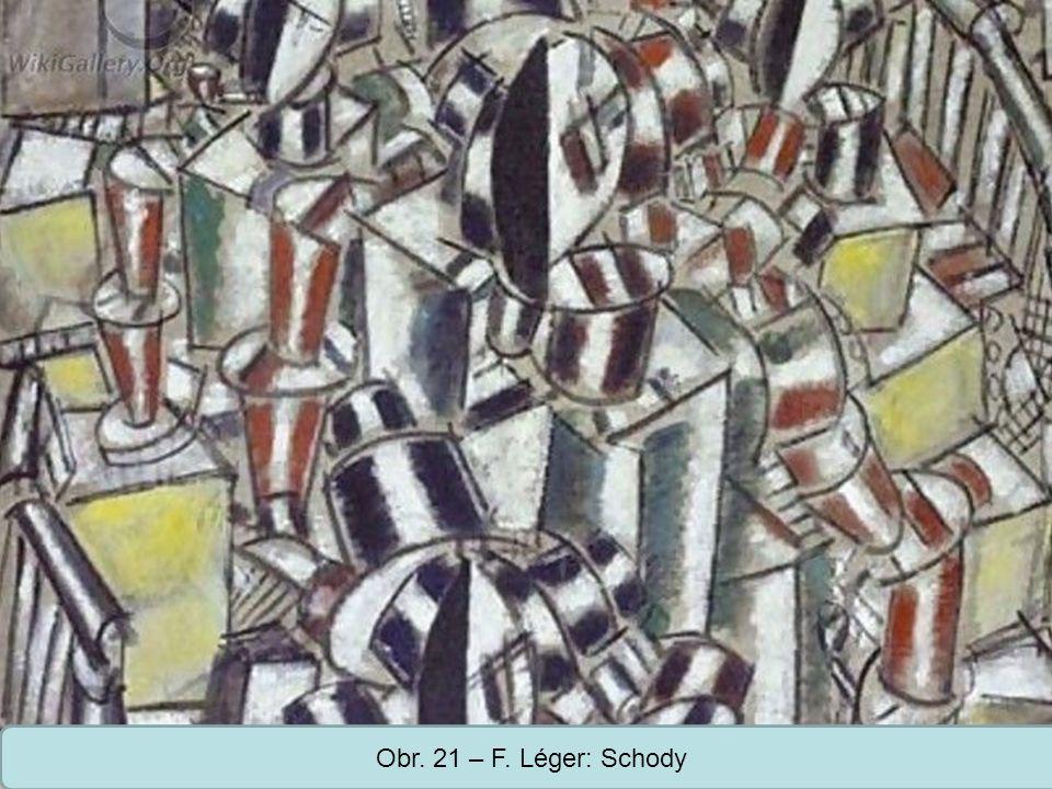 Obr. 21 – F. Léger: Schody
