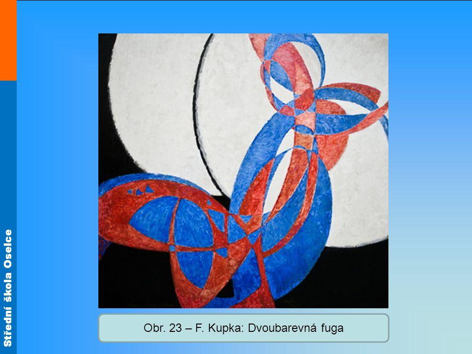 Obr. 23 – F. Kupka: Dvoubarevná fuga