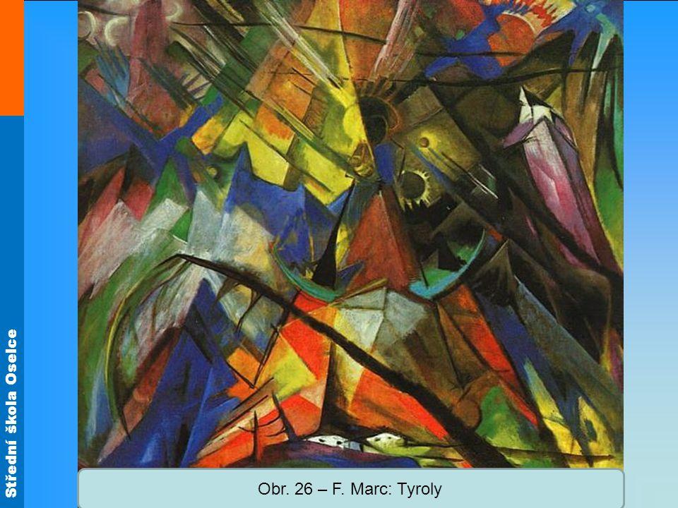 Obr. 26 – F. Marc: Tyroly