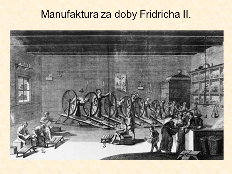 Manufaktura za doby Fridricha II.