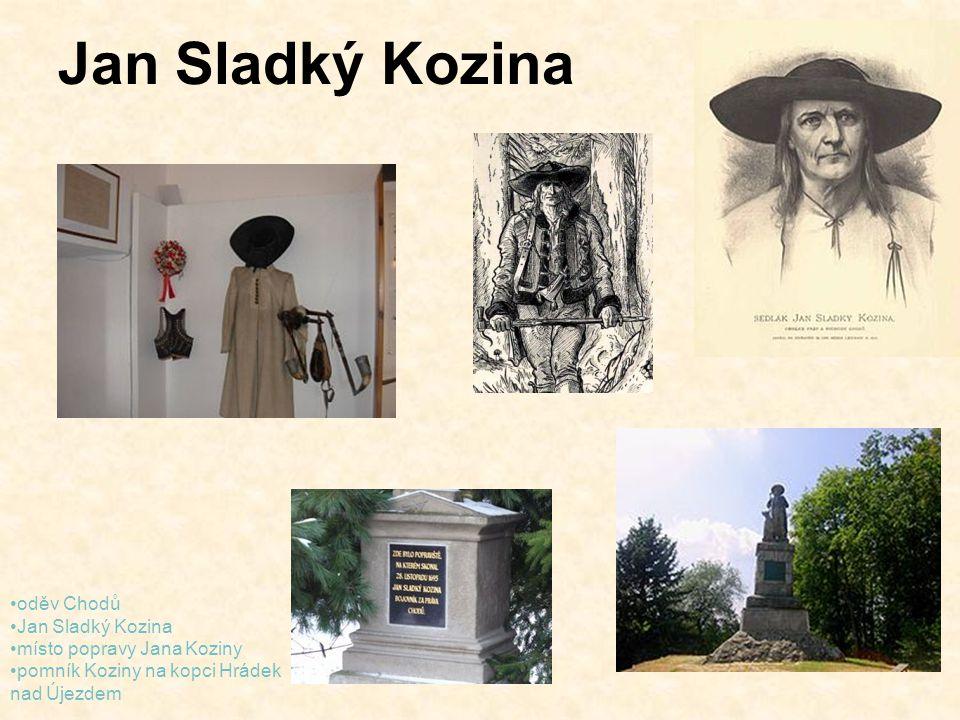 Jan Sladký Kozina oděv Chodů Jan Sladký Kozina