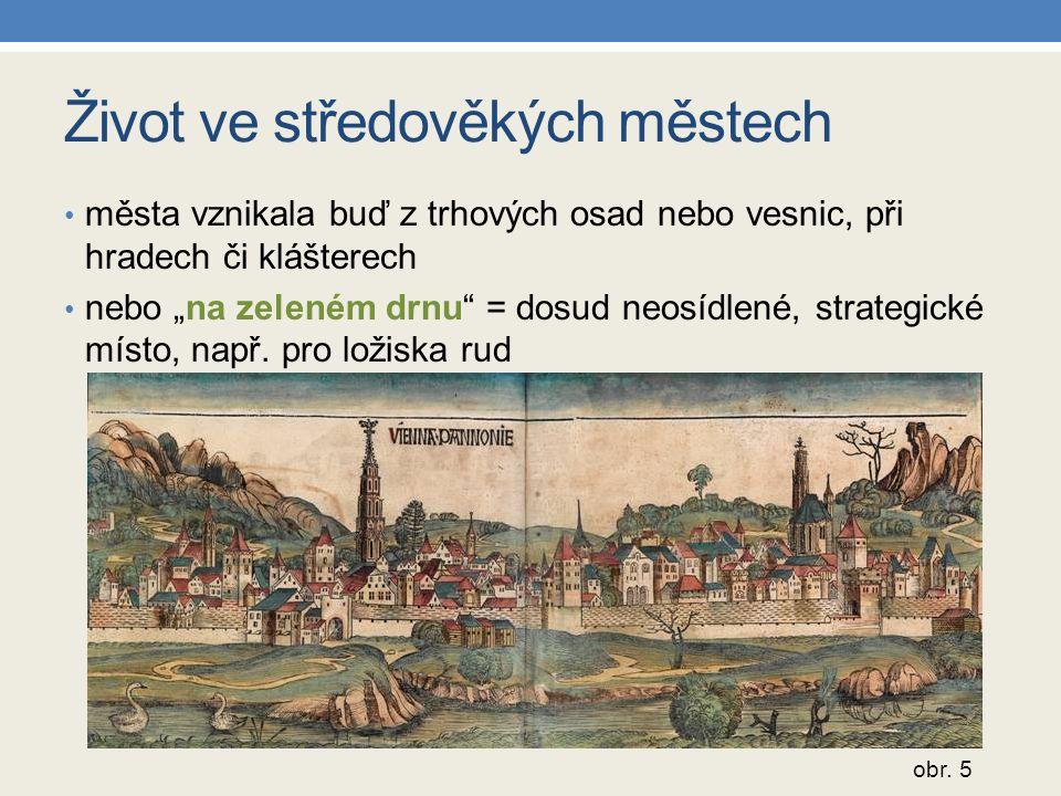 Život ve středověkých městech