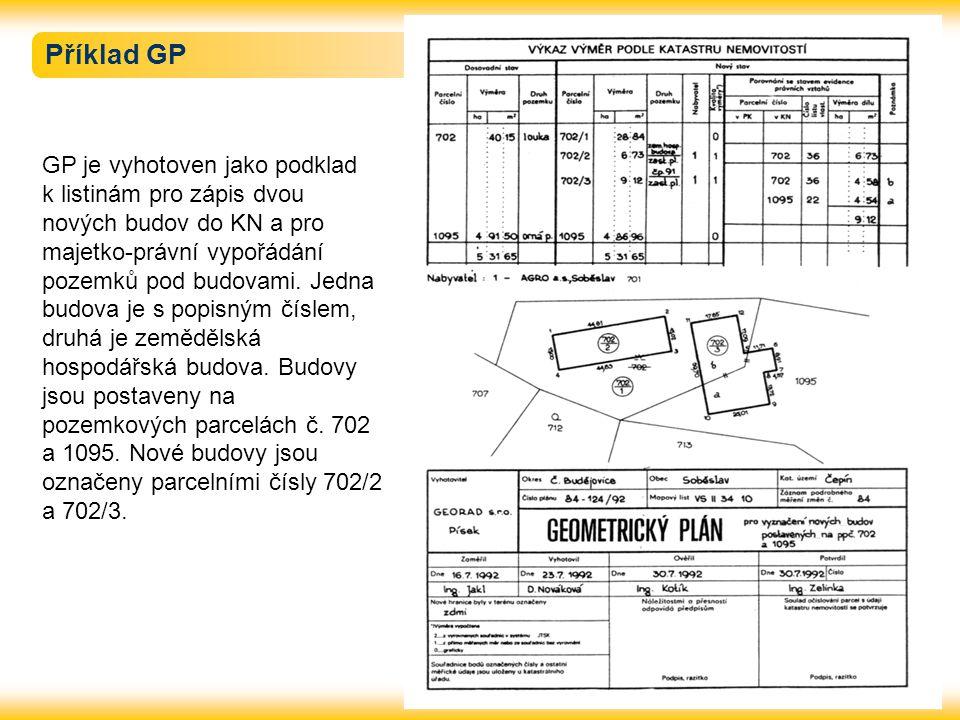 Příklad GP