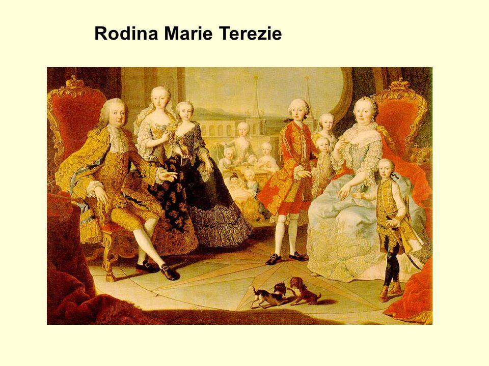 Rodina Marie Terezie Marie Antoinetta Josef II.