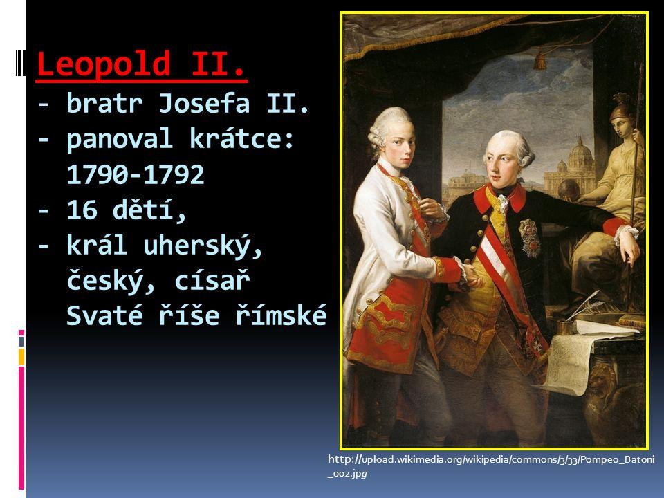 Leopold II. - bratr Josefa II