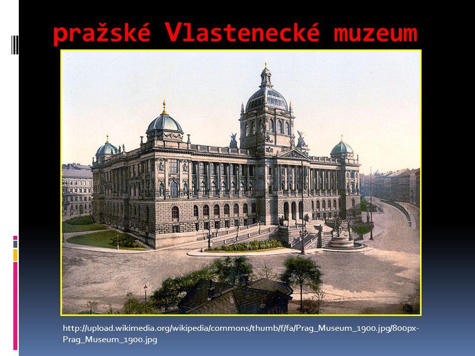 pražské Vlastenecké muzeum