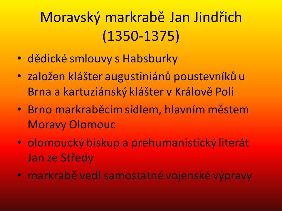 Moravský markrabě Jan Jindřich (1350-1375)