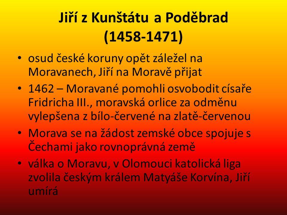 Jiří z Kunštátu a Poděbrad (1458-1471)