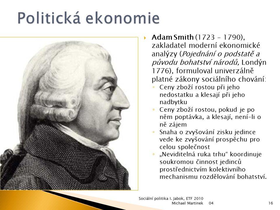 Politická ekonomie