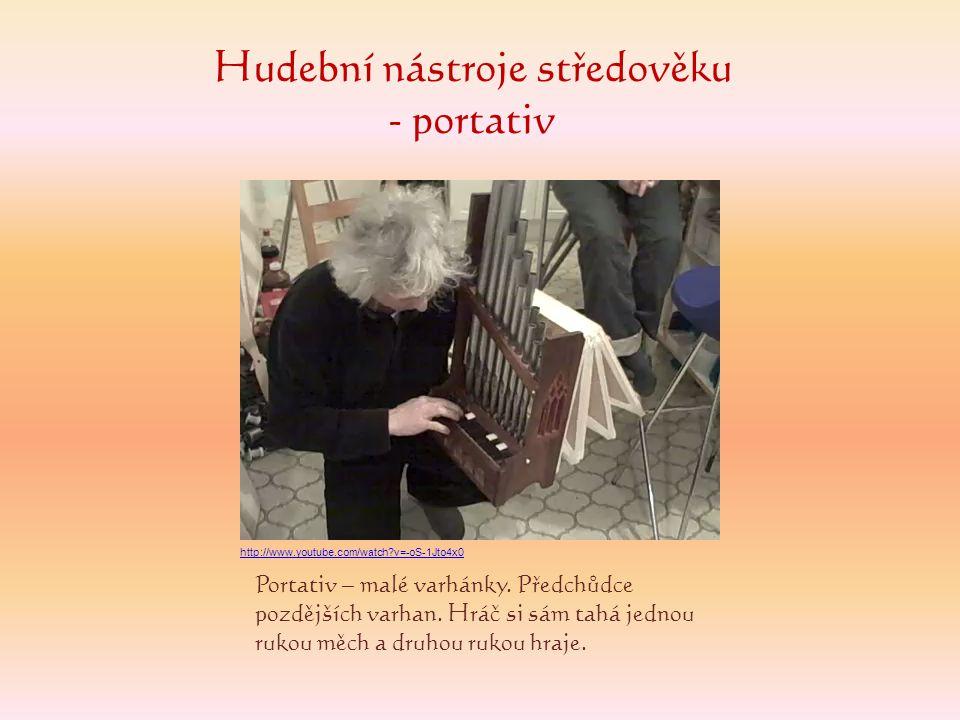 Hudební nástroje středověku