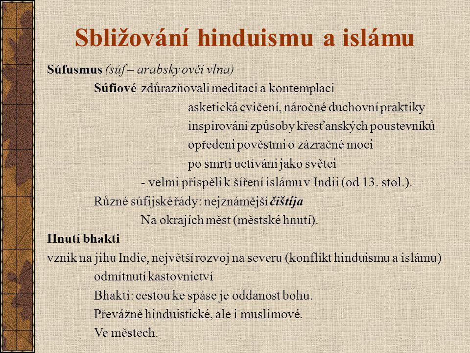 Sbližování hinduismu a islámu