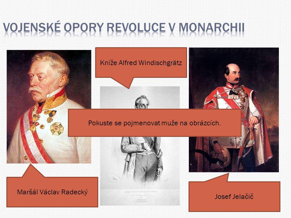 Vojenské opory revoluce v monarchii