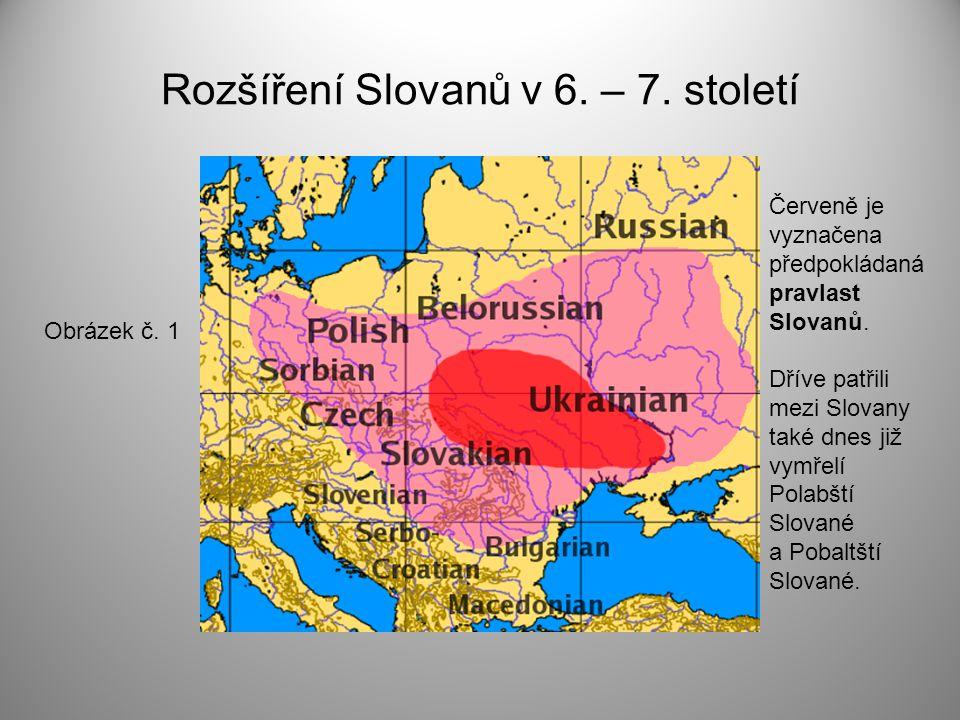 Rozšíření Slovanů v 6. – 7. století