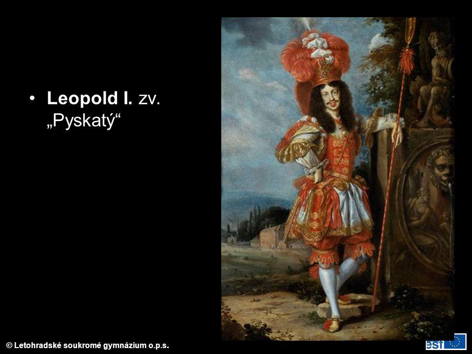 """Leopold I. zv. """"Pyskatý"""