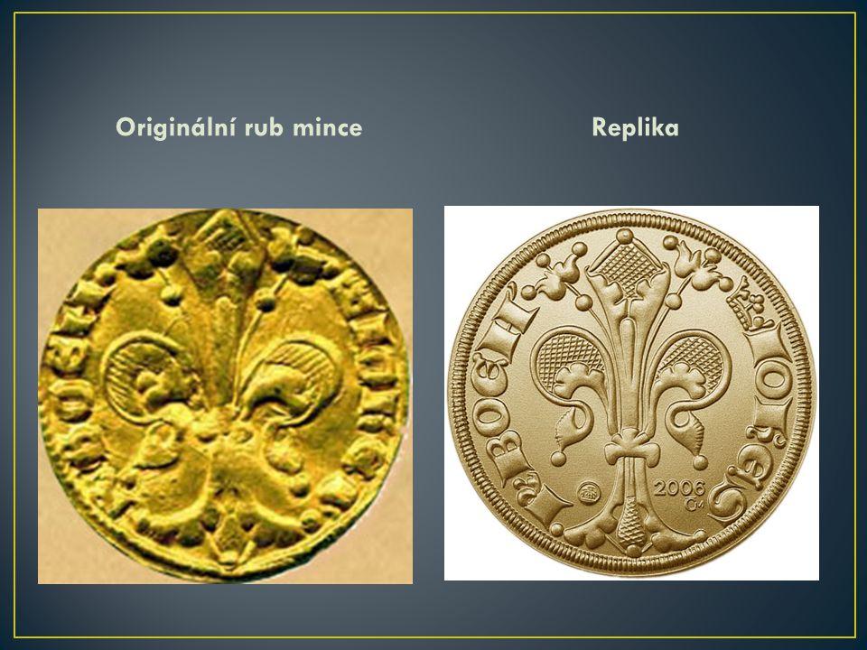 Originální rub mince Replika