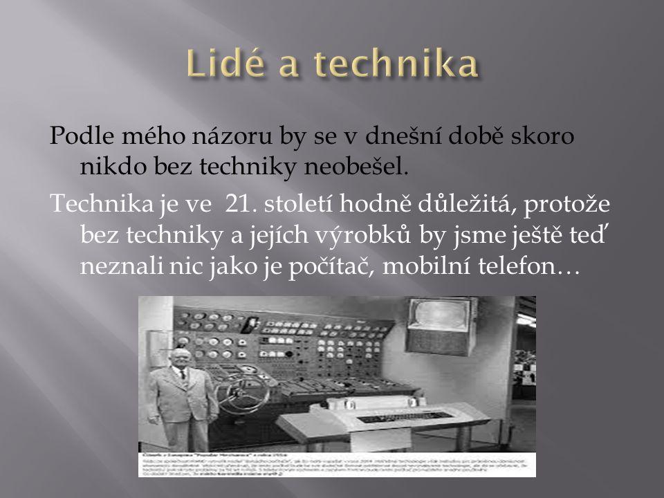 Lidé a technika