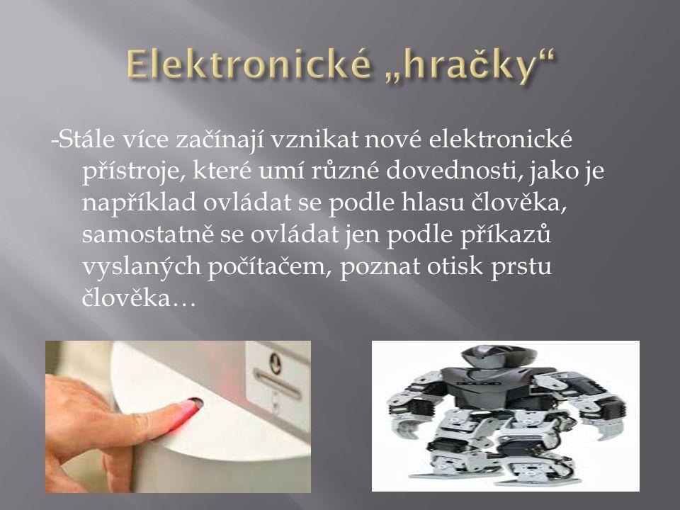 "Elektronické ""hračky"