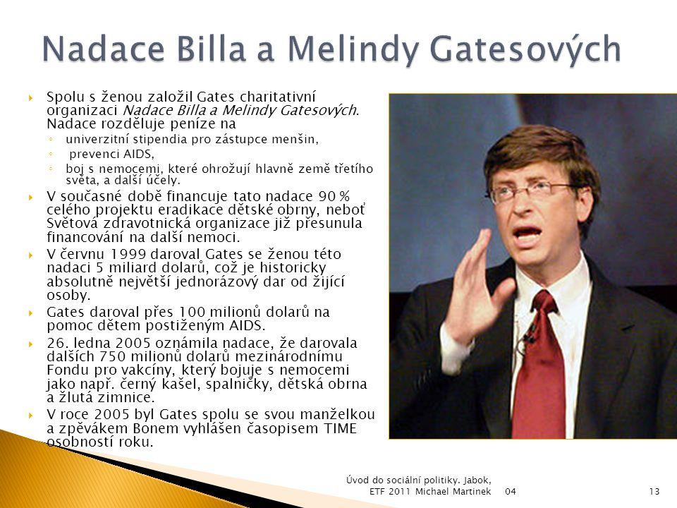 Nadace Billa a Melindy Gatesových