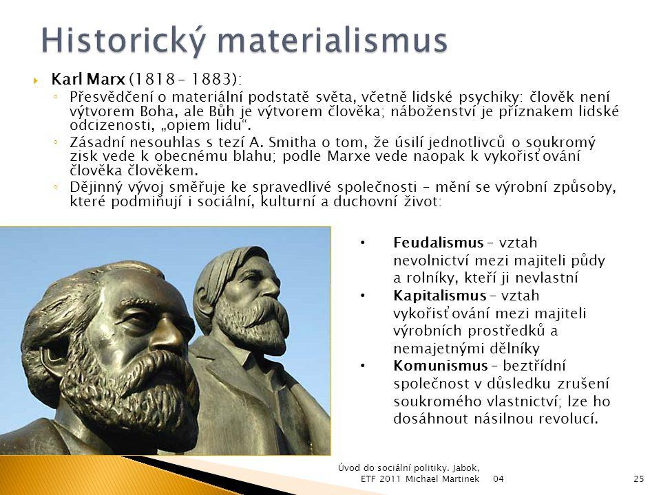 Historický materialismus