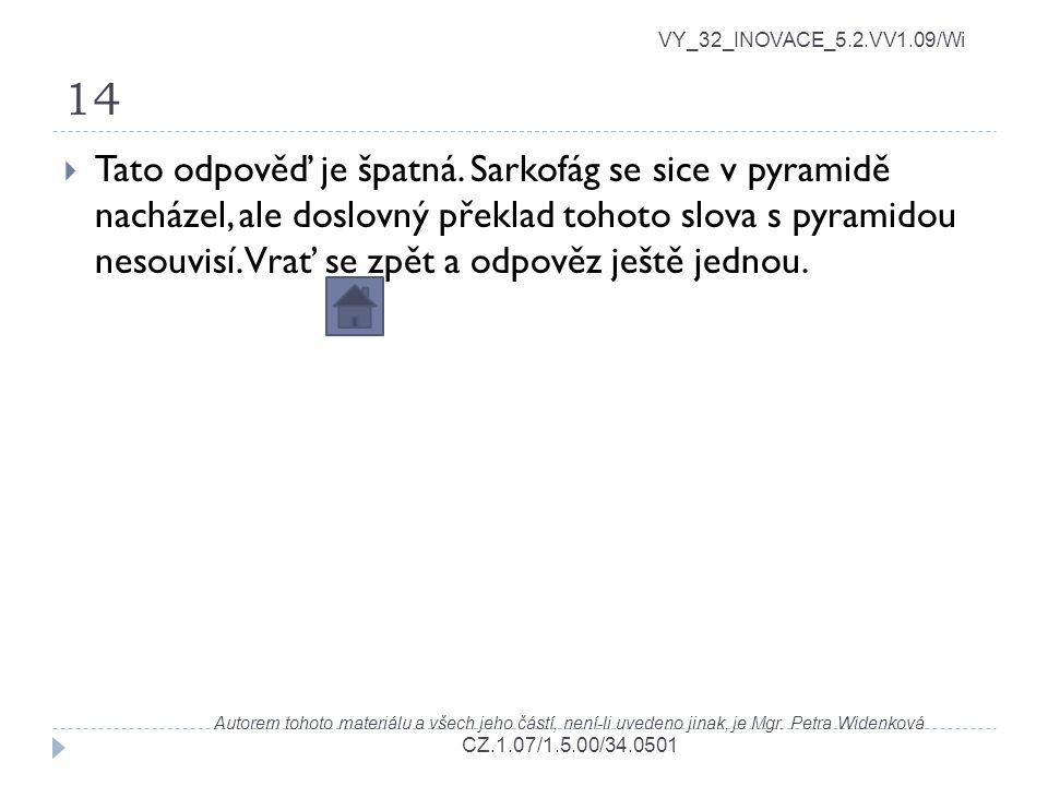 14 VY_32_INOVACE_5.2.VV1.09/Wi.