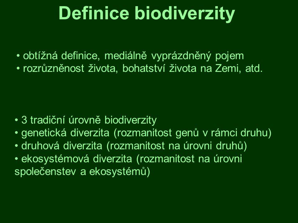 Definice biodiverzity