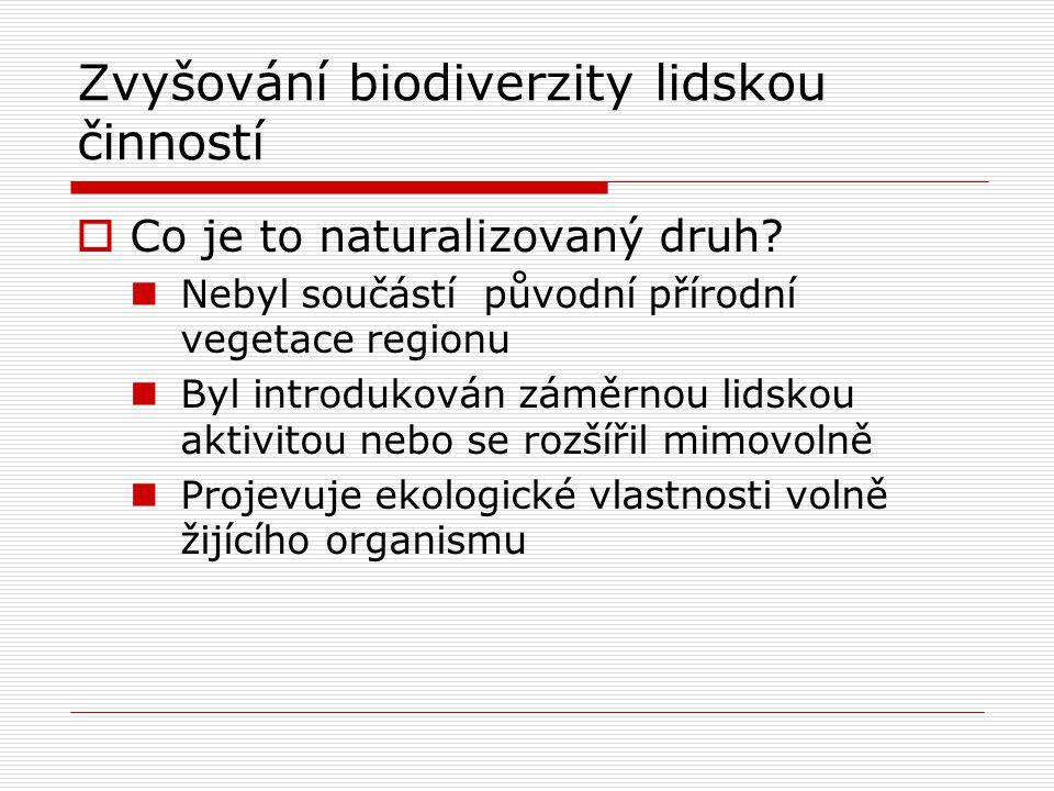 Zvyšování biodiverzity lidskou činností