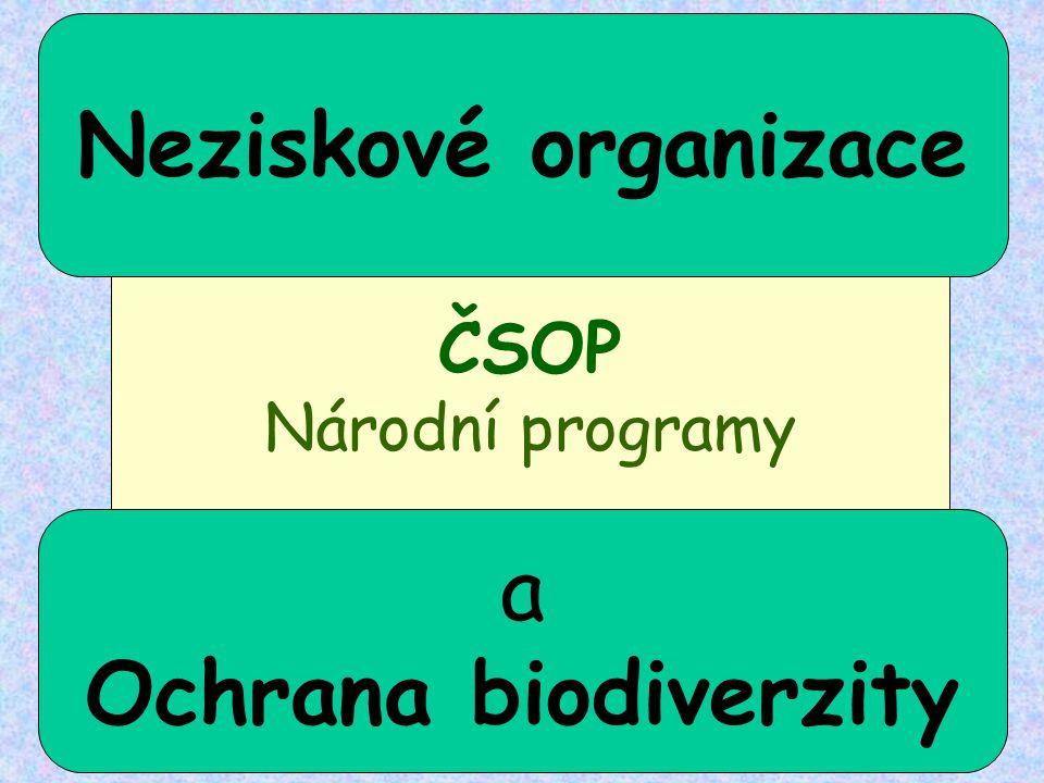 Neziskové organizace Ochrana biodiverzity