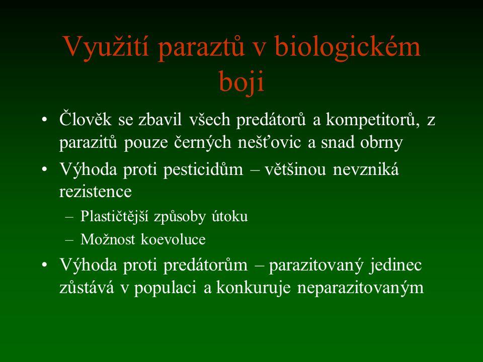 Využití paraztů v biologickém boji